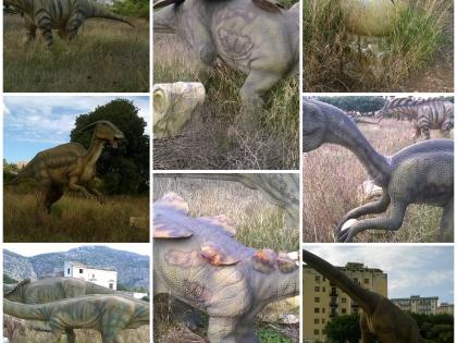Fig 1 - Fig 1 - dimotrodonte m 4x1x1,6, t-rex...