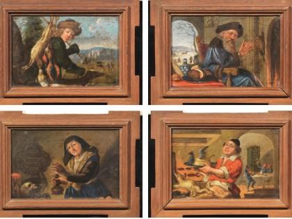 Fig 1 - Fig 1 - (Lotto n.107) - Scuola fiammin...