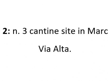 Fig 1 - Fig 1 - N. 3 cantine site in Marcon (V...