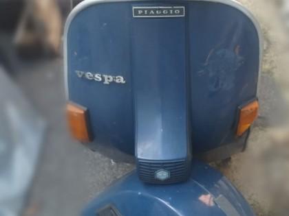 Fig 1 - Fig 1 - ciclomotore Piaggio Vespa targ...