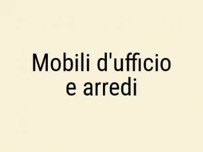 Fig 1 - Fig 1 - Mobili d'ufficio ed arredi