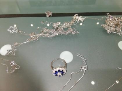 Fig 1 - Fig 1 - Monile argento  catenina, anel...