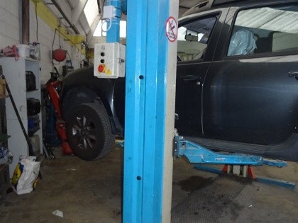 Fig 1 - Fig 1 - 1) PONTE SOLLEVAMENTO AUTO N°...