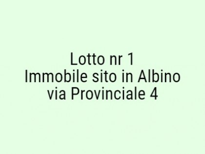 Fig 1 - Fig 1 - Lotto: cantina al p. interrato...
