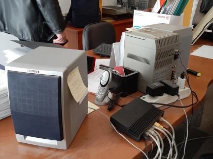 Fig 1 - Fig 2 - Arredo ufficio e hardware
