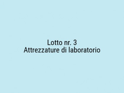 Fig 1 - Fig 1 - Attrezzature di laboratorio