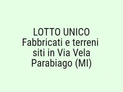 Fig 1 - Fig 1 - Lotto unico composto da: i) co...