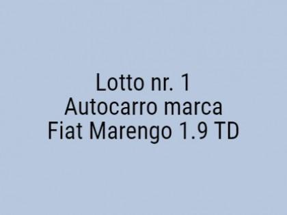 Fig 1 - Fig 1 - Autocarro marca Fiat Marengo 1...