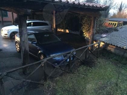 Fig 1 - Fig 1 - Autovettura Audi A3 targa CG88...