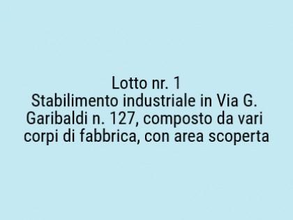 Fig 1 - Fig 1 - Lotto: Area scoperta., Stabili...