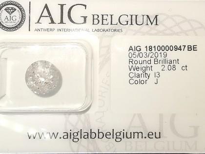 Fig 1 - Fig 1 - (Lotto 1) Diamond Round Brilli...