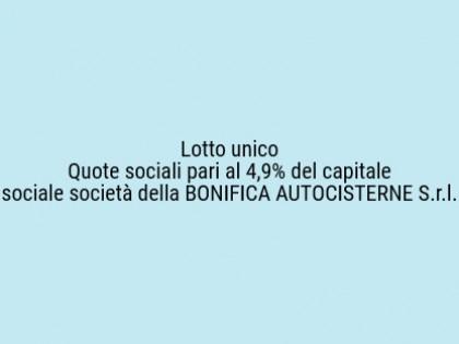 Fig 1 - Fig 1 - Quote sociali pari al 4,9 % (Q...