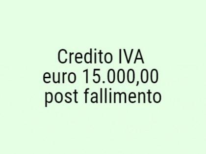 Fig 1 - Fig 1 - Credito IVA chiusura falliment...
