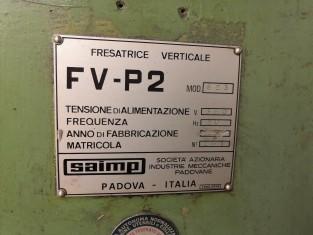 Fig 1 - Fig 2 - Fresatrice verticale FV-P2 mod...