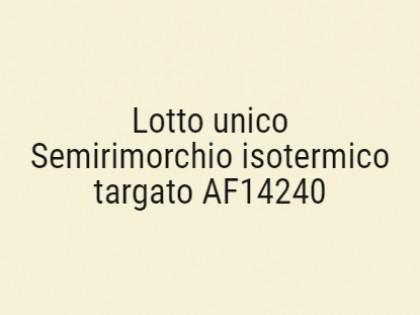Fig 1 - Fig 1 - Semirimorchio isotermico targa...