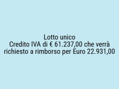 Fig 1 - Fig 1 - Credito IVA di € 61.237,00 che...