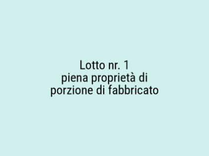 Fig 1 - Fig 1 - Lotto: autorimessa al piano te...