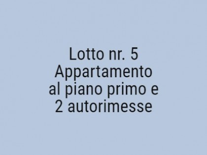 Fig 1 - Fig 1 - Lotto: Due autorimesse, Appart...
