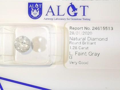 Fig 1 - Fig 1 - (Lotto 2) Natural Diamond Roun...