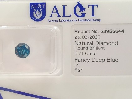 Fig 1 - Fig 1 - (Lotto 4) Natural Diamond Roun...