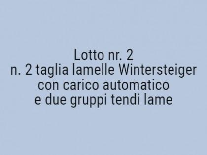 Fig 1 - Fig 1 - n. 2 taglia lamelle Winterstei...