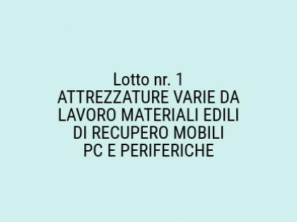 Fig 1 - Fig 1 - ATTREZZATURE VARIE DA LAVORO,...