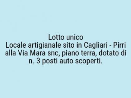 Fig 1 - Fig 1 - Locale artigianale sito in Cag...