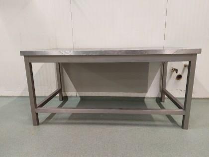 Fig 1 - Fig 1 - lotto 2 tavolo acciaio inox -...