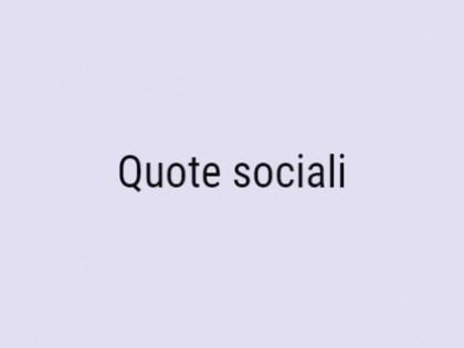 Fig 1 - Fig 1 - Quote sociali pari al 4,9 % de...