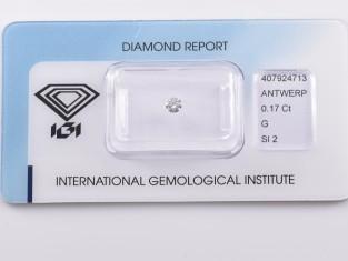 Fig 1 - Fig 1 - Lotto nr.8 diamante ct.0,17 co...
