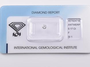 Fig 1 - Fig 1 - Lotto nr.9 diamante ct.0,17 co...