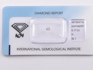 Fig 1 - Fig 1 - Lotto nr.10 diamante ct.0,17 c...