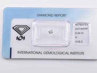 Fig 1 - Fig 1 - Lotto nr.31 diamante ct.0,24 c...