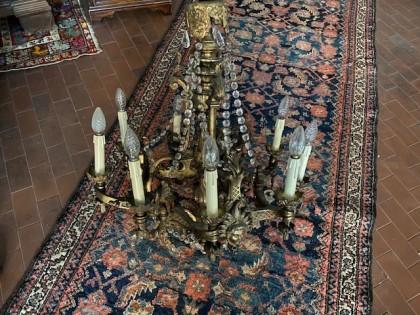 Fig 1 - Fig 1 - lampadario epoca in stile