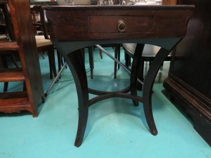 Fig 1 - Fig 1 - Lotto 15: Tavolino in legno ga...