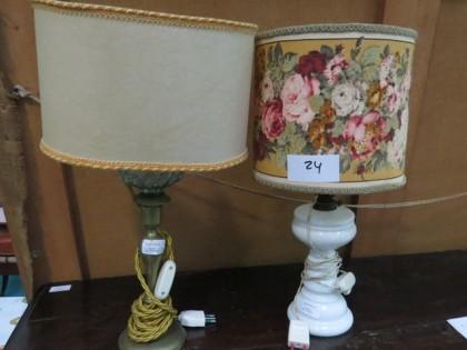 Fig 1 - Fig 1 - Lotto 24: Coppia di lampade co...