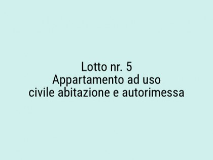 Fig 1 - Fig 1 - Lotto: Autorimessa al piano ri...