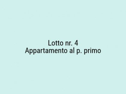 Fig 1 - Fig 1 - Lotto: Appartamento al p. prim...
