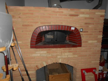 Fig 1 - Fig 1 - lotto 17 Forno per pizze in mu...