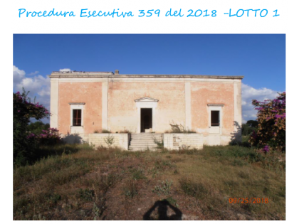 Fig 1 - Fig 1 - Lotto: Fondi rustici ai quali...