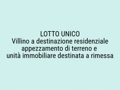 Fig 1 - Fig 1 - Lotto: unità immobiliare desti...