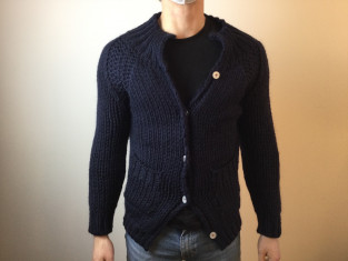Fig 1 - Fig 1 - RIF. 1: CARDIGAN FATTO A MANO...