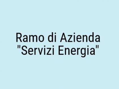 """Fig 1 - Fig 1 - Ramo di Azienda """"Servizi Energ..."""