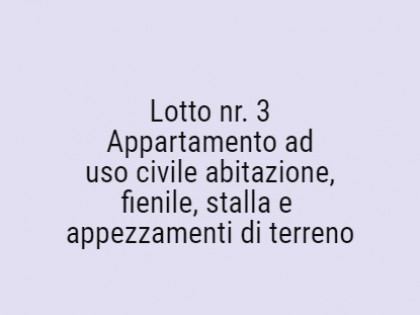 Fig 1 - Fig 1 - Lotto: Appartamento ad uso civ...