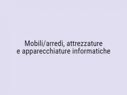 Fig 1 - Fig 1 - LOTTO UNICO - Mobili/arredi, a...