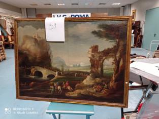 Fig 1 - Fig 3 - Paesaggio inizio 1800 raffigur...