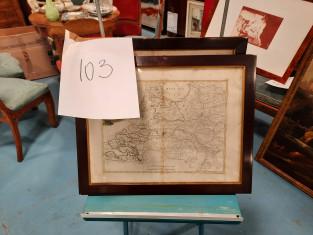 Fig 1 - Fig 1 - N. 2 carte geografiche in corn...