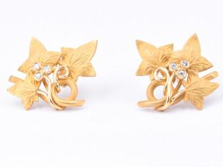 Fig 1 - Fig 1 - L154 orecchini in oro giallo 1...