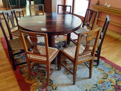 Fig 1 - Fig 1 - (Lotto n.7) - Tavolo in legno...