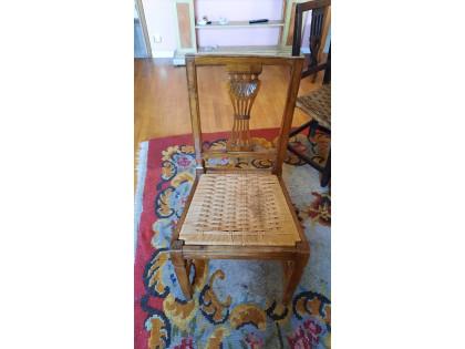 Fig 1 - Fig 2 - (Lotto n.7) - Tavolo in legno...